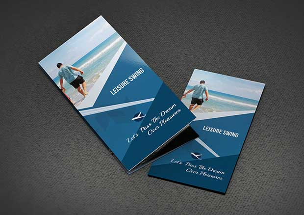 FreetravellingtrifoldbrochuretemplatePSD Knock Digital - Psd tri fold brochure template